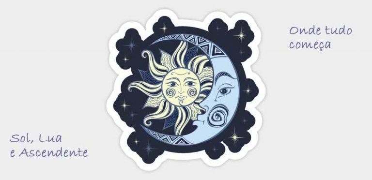 Sol, Lua e Ascendente